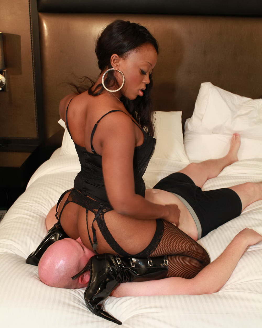 White slave for black tranny stories