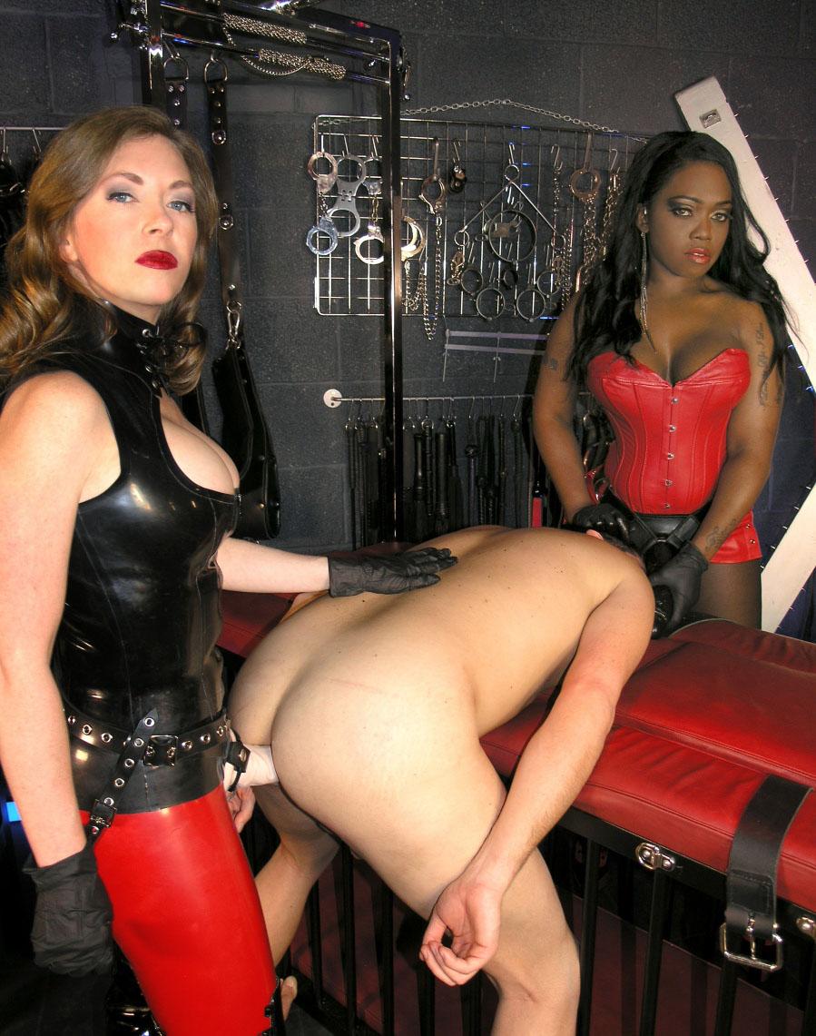 black strap on mistress